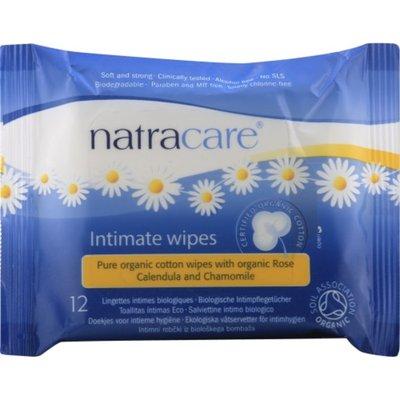 Natracare Wipes, Intimate