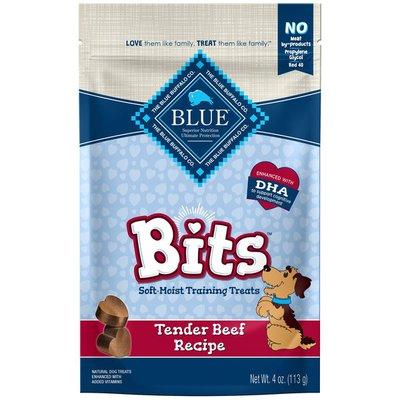 Blue Buffalo BLUE Bits Natural Soft-Moist Training Dog Treats, Beef Recipe
