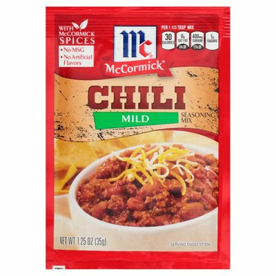 McCormick®  Mild Chili Seasoning Mix