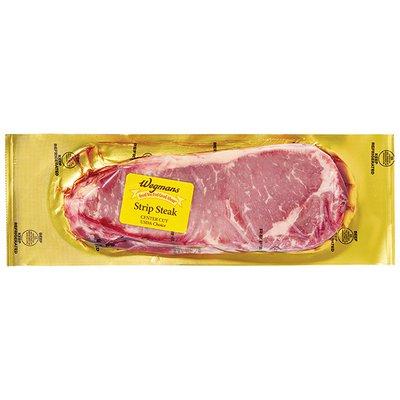 Wegmans Strip Steaks