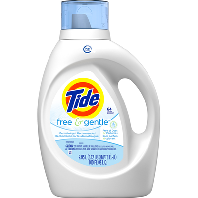 Tide Free & Gentle High Efficiency Laundry Detergent