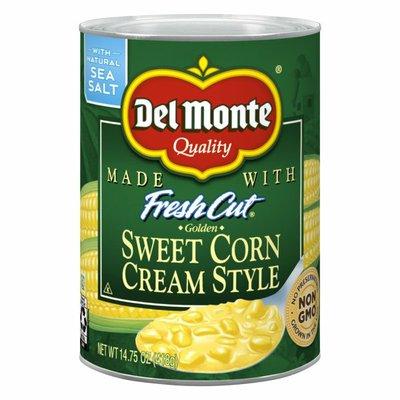 Del Monte Sweet Corn, Cream Style, Golden