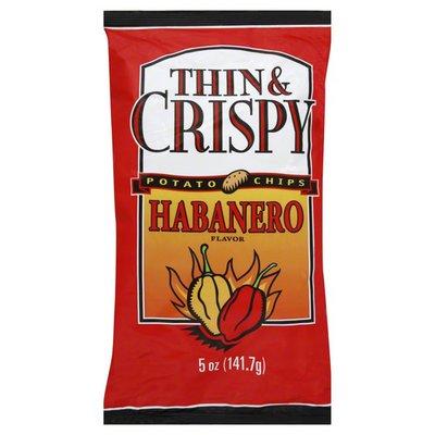 Thin & Crispy Potato Chips, Habanero