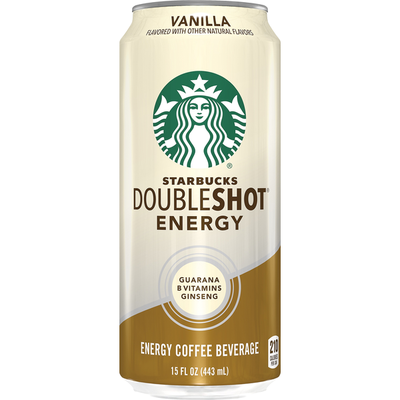 Starbucks Double Shot Energy Vanilla Fortified Energy Coffee Drink