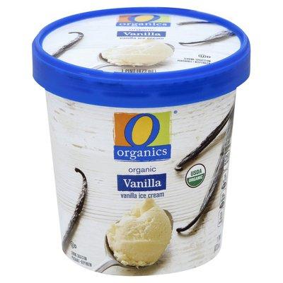 O Organics Ice Cream, Organic, Vanilla