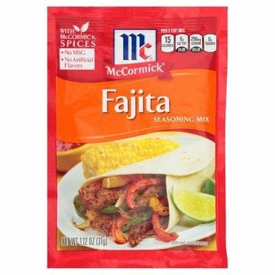 McCormick® Fajitas Seasoning Mix Packet