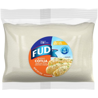 Fud Queso Cotija Mexican Style Grating Cheese