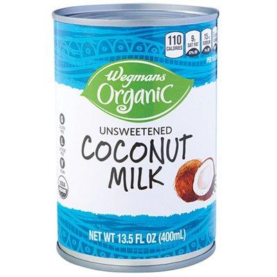 Wegmans Organic Unsweetened Coconut Milk