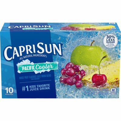 Capri Sun Pacific Cooler Mixed Fruit Naturally Flavored Juice Drink Blend