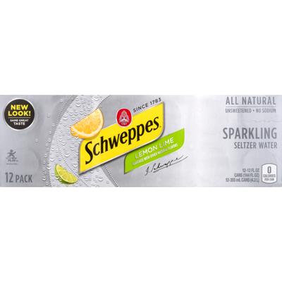 Schweppes Lemon Lime Sparkling Seltzer Water