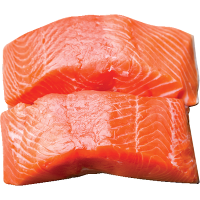 Fresh Salmon Portions Farm-raised, 6 oz.