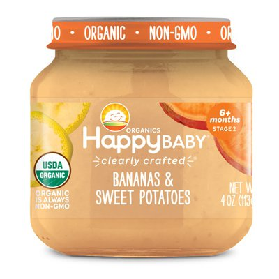 Happy Baby Bananas & Sweet Potatoes