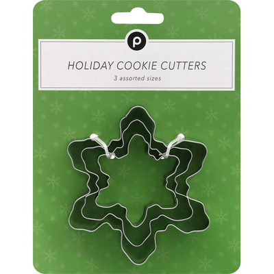 Publix Cookie Cutters, Holiday