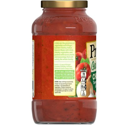 Prego® Chunky Tomato, Onion & Garlic Italian Sauce