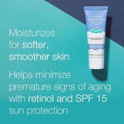 Neutrogena® Healthy Skin Anti-Wrinkle Cream With SPF 15 Sunscreen