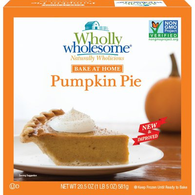 Wholly Wholesome Pumpkin Pie