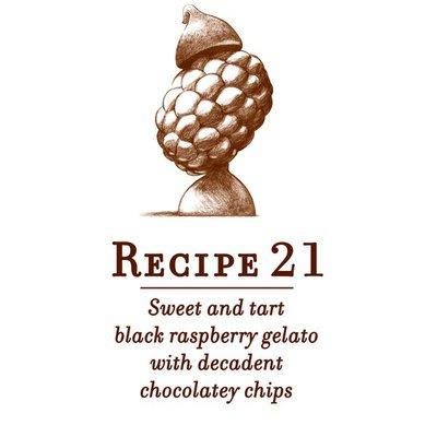 Talenti Gelato Black Raspberry Chocolate Chip