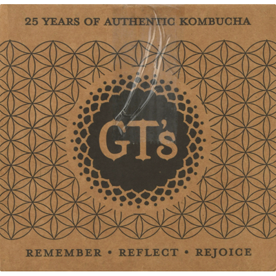 GTs Kombucha, Raw, Cosmic Cranberry