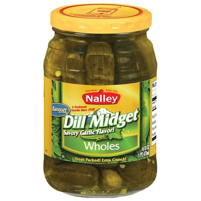 Nalley Dill Midget Wholes Pickles