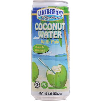 Caribbean Rhythms Coconut Water with Pulp