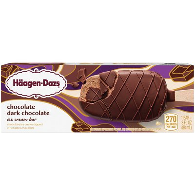 Haagen-Dazs Chocolate Dark Chocolate Ice Cream Bar
