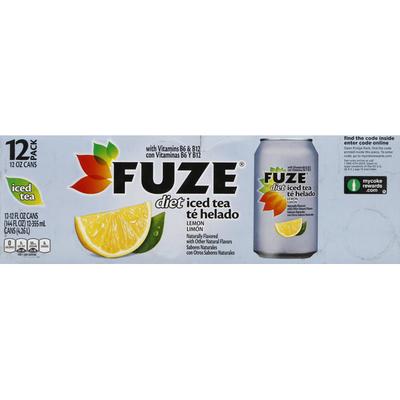 Fuze Diet Lemon Black Iced Tea