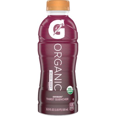 Gatorade Thirst Quencher, Organic, Mixed Berry