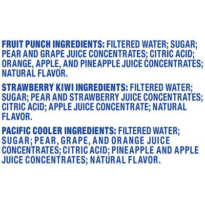 Capri Sun Fruit Punch, Strawberry Kiwi & Pacific Cooler Naturally Flavored Juice Drink Blend Variety Pack