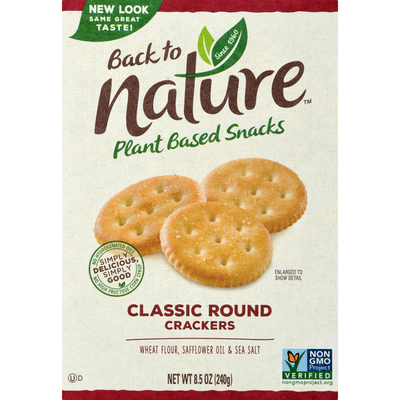 Back to Nature Crackers, Classic Round