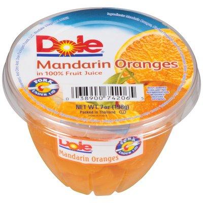 Dole in 100% Fruit Juice Mandarin Oranges