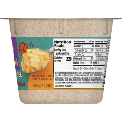Annie's Gluten Free Rice Pasta and Cheddar Macaroni and Cheese