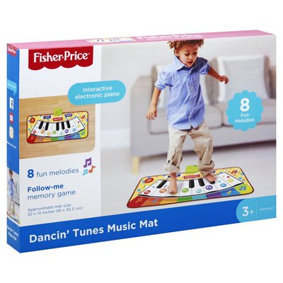 Fisher-Price Toy, Music Mat, Dancin' Tunes