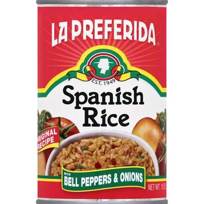La Preferida Rice, Spanish, with Bell Peppers & Onions