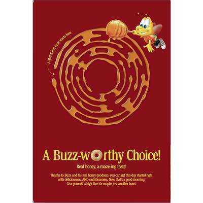 Honey Nut Cheerios Breakfast Cereal with Oats, Gluten Free