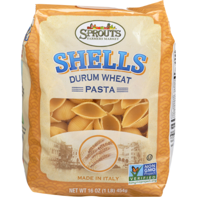 Sprouts Shells Pasta