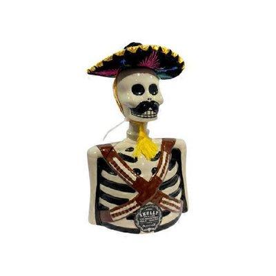 Los Azulejos Skelly Anejo Tequila