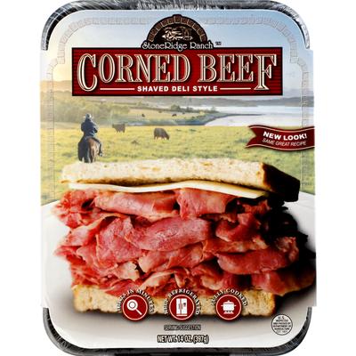 StoneRidge Ranch Corned Beef, Shaved Deli Style