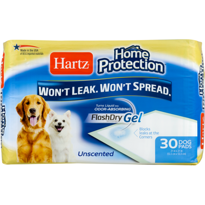 Hartz Home Protection Dog Pads - 30 CT