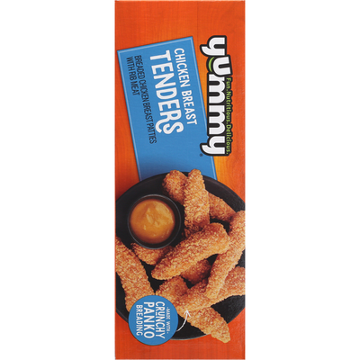Yummy Chicken Breast Tenders, 100% All Natural