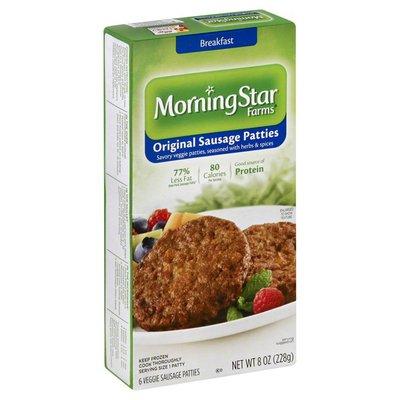 Morning Star Farms Original Veggie Sausage Patties
