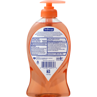 Softsoap Hand Soap, with Moisturizers, Antibacterial, Crisp Clean