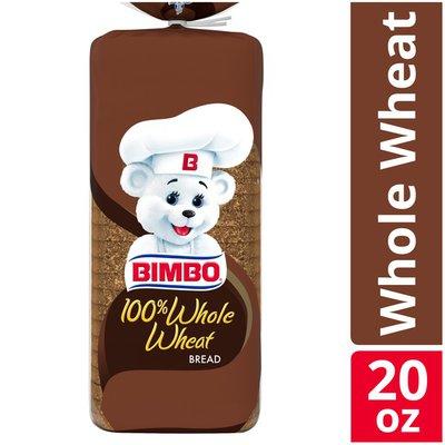Bimbo 100% Whole Wheat Bread