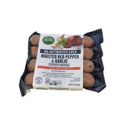 Open Nature Sausage, Chicken, Roasted Red Pepper & Garlic