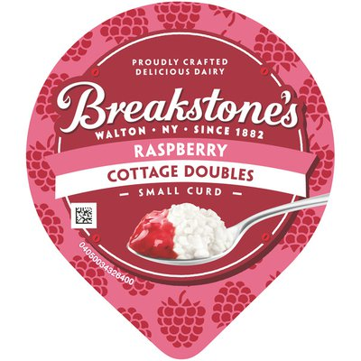 Breakstone'S Cottage Doubles Cottage Cheese & Raspberry Topping