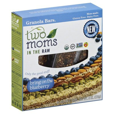 Two Moms In The Raw Granola Bars, Bring on the Blueberry