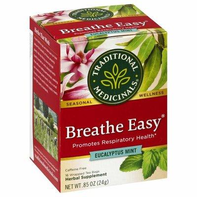 Traditional Medicinals Seasonal Teas Breathe Easy Naturally Caffeine Free Herbal Tea