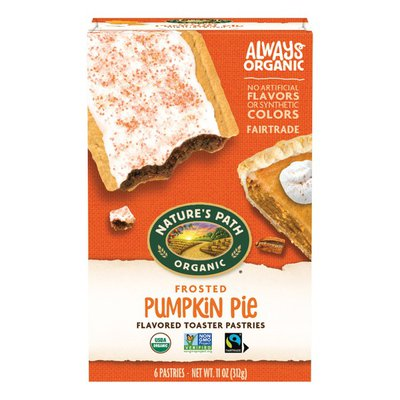 Nature's Path Pumpkin Pie Frosted Toaster Pastries