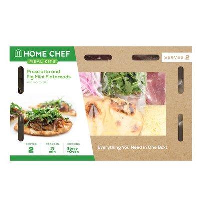 Home Chef Prosciutto And Fig Mini Flatbreads With Mozzarella