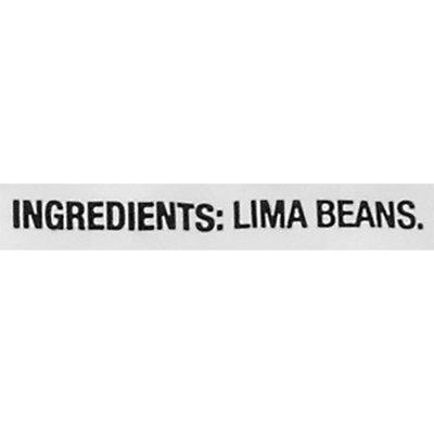 Food Lion Baby Lima Beans, Bag
