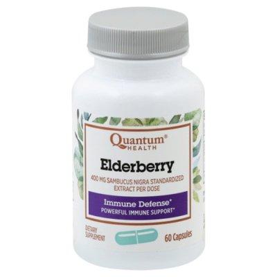 Quantum Health Elderberry Immune Defense Herbal Capsules - 60 CT